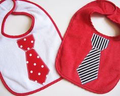 Bib idea for boys: tie!