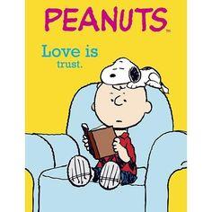"""Love is... Trust."""