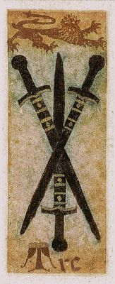 La Corte dei Tarocchi - Three of Swords