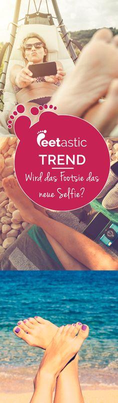Wird das Footsie das neue Selfie? Schon seit Längerem tummeln sich Füße in den sozialen Netzwerken. Auf den Bildern sind meist nur Füße zu sehen. Oft in schöner Urlaubskulisse. Ja, das Footsie erobert die Online-Welt. Und viele Stars machen mit.