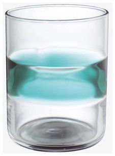 Alfie Large Tumbler, Blue contemporary everyday glassware