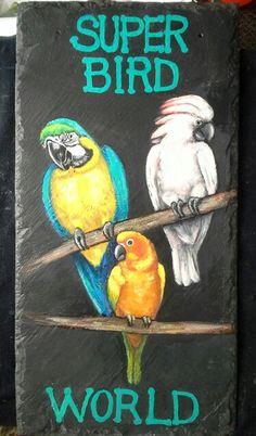 Custom bird sign