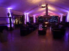 Antler Room setup for dancing