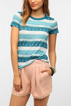 BDG Graphic Crew-Neck Tee at urban outifttters. love all the basics for urban outfitters cute gfraphic tees too