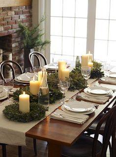 Silvia Home Decor: Mesas de Natal