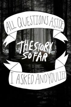 The Story So Far - Empty Spaces
