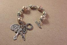 Catholic Jewelry  Religious Bracelet  St. by AngelaVenableArt