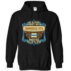 Born in COMMERCE CITY-COLORADO V01 T Shirts, Hoodies Sweatshirts. Check price ==► https://www.sunfrog.com/States/Born-in-COMMERCE-CITY-2DCOLORADO-V01-Black-82645518-Hoodie.html?57074