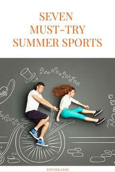 Why sweat in gym when summer provides endless opportunities to burn calories outdoors and have fun at the same time? Try these 7 sport activities which could turn out to be real adventures you will remember for months after. https://fitvize.com/2016/07/19/7-must-try-summer-sports/