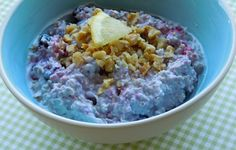 Blueberry Lemon Overnight Oats & 30 Overnight Oatmeal Recipes to keep you COOL this summer Vegetarian Recipes, Cooking Recipes, Stove Top Recipes, Overnight Oatmeal, Oatmeal Recipes, Morning Food, Recipe Of The Day, Popular Recipes, Recipe Using