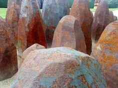 David Nash ~ Yorkshire Sculpture Park -