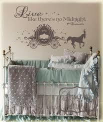 Live like there's no midnight! If there is ever another baby girl in my life this will be her room :)