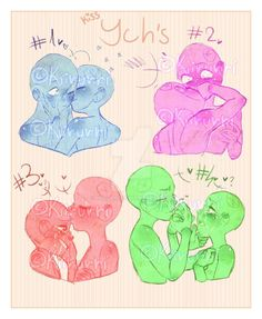 YCH by Bronze-Haifisch on DeviantArt Couple Drawings, Art Drawings Sketches, Cartoon Drawings, Ship Drawing, Drawing Base, Kissing Poses, Drawing Reference Poses, Kissing Reference, Poses References