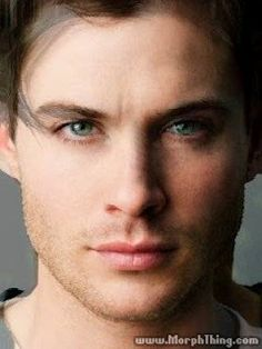 Jensen Ackles and Ian Somerhalder morphed together. Whoo....