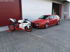 Alfa Romeo 159 sw/ Ducati
