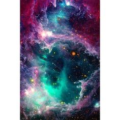 Pillars of Star Formation on Society6 ❤ liked on Polyvore featuring backgrounds, space, art, fairies and stars