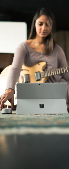 Meet Surface Pro gen), available with LTE. With more performance than Surface Pro you can create, study, work and play anywhere. Surface Pro, Microsoft Surface, Recording Studio, Product Design, Lust, Guitar, Laptop, Notebook, Tech