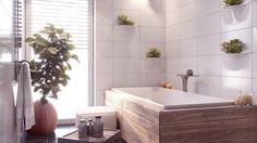 interior 3D rendering, bathroom