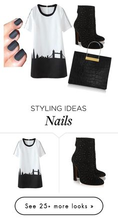 """""""In The City Outfit"""" by briannarudley1 on Polyvore featuring Alaïa and Balenciaga"""