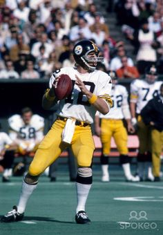 Steelers qb Terry Bradshaw