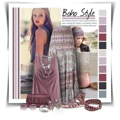 Boho Style by diva1023 on Polyvore featuring мода, Sans Souci, Lascana, See…