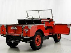 Land Rover Serie 1, Land Rover 88, Land Rover Defender, Vintage Jeep, Vintage Cars, Antique Cars, M Benz, Old Jeep, Off Road
