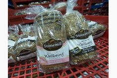 """Stonemill Bakehouse  has put out two kinds of bread-- one labelled for men and one for women. They have slight differences in their recipes."" Sent in by @ HigherEdChange, @ wendysawatzky and @ Interesting_IP"