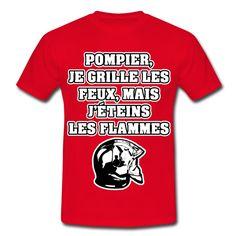 Clothing, Shoes & Accessories Objective Tee-shirt Coton Impression Brotherhood Pompier Sapeurs-pompiers Men's Accessories