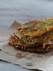 Rostis de papa y batata con peperonata Pork, Lunches, Meals, Diy Food, Saucepans, Frying Pans, Dinner, Cooking Recipes, Kale Stir Fry