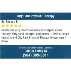 Randy was very professional in every aspect of my therapy. Very good therapist and teacher...