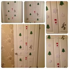 FREE SHIPPING  Christmas Garlands Set Made by by SecretOfHands, $40.00