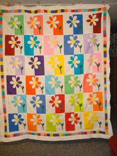 shadow daisy quilt pattern | found on quiltingboard com ... : shadowed daisy quilt pattern free - Adamdwight.com