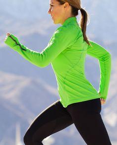 vibrant running top