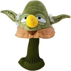 Angry Birds Star Wars Yoda Golf Headcover.  Buy it @ ReadyGolf.com