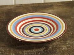 TV Series Two and a Half (2-1/2) Men 11.5 inch Dinner Plates (SET OF 4) by Tabletops. $49.99. Set of 4 Dinner Plates. From the TV Series Two and a Half Men. Ceramic. As seen on the popular show two and half men. Charming hand-painted stripe pattern adorns the Sedona dinnerware and serveware. 11 1/2 inch dinner plates are generously proportioned. The hand painted stripe pattern will be a joy to look at everytime you use it. No two pieces are ever alike; a welcome...