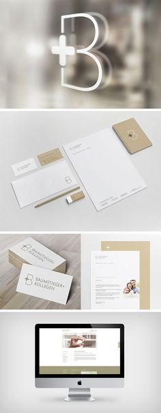 Dr. Baumstieger & Coll. – Zahnarztpraxis für die ganze Familie: Corporate Design für Praxismarketing von WHITEVISION