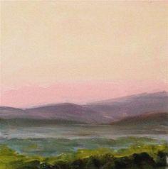 """New Mexico Memory, 6x6 Inch Acrylic Painting by Kelley MacDonald"" - Original Fine Art for Sale - © Kelley MacDonald"