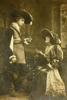 Mr Martin Harvey and Miss Coleridge by Mig_R, via Flickr