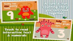 iPhone App Cutie Mini Monsters | Education | Entertainment |  | 4  | $1.99 NOW FREE | Promotional giveaway, FREE for a limited time!Do you have little ones learning to count?Join Blushy, Toothy, Golly, Taily