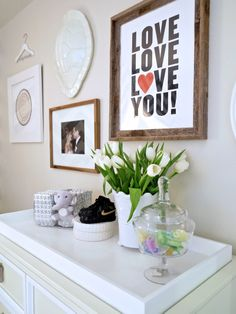 Home | Jillian Harris....add one more love and so cute for the boys picture wall