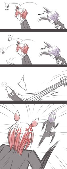 Fonnie - Notice Me *Short Comic* by SaitouHime145 on DeviantArt