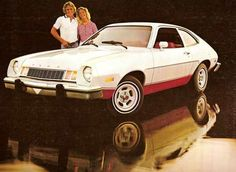 Gorgeous ford pinto - my first one was red, and I had a second one, brown!