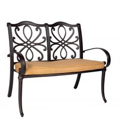 Holland Bench   Woodard Furniture 2013