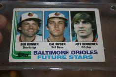 1982 Topps Baseball Card Cal Ripken Rookie