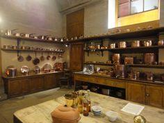 Kitchen at Harewood House, Leeds.