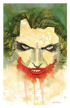 The Joker - Brett Weldele