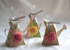 mini watering can! Great for may day or mother's day!
