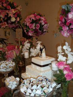 Decoração de Casamento Rosa e Pink