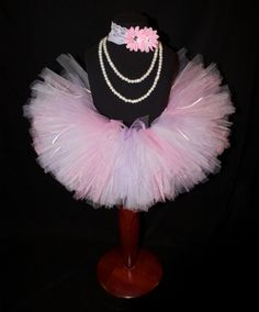 Light Pink Lavender and White Girls Tutu by HarperRaeDesigns, $18.00