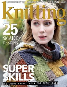 This pattern was first published in Knitting Magazine March 2018 Knitting Books, Crochet Books, Lace Knitting, Knitting Patterns, Knit Crochet, Crochet Patterns, Knitting Magazine, Crochet Magazine, Knitting Supplies